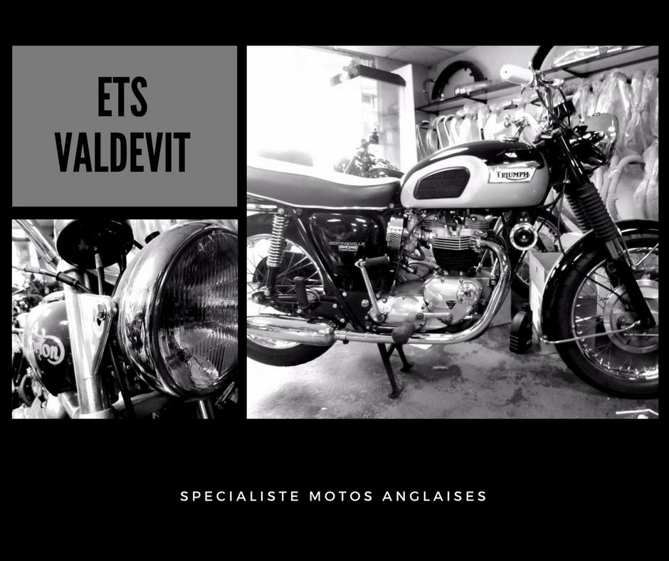 Etablissement Valdevit Spécialiste Des Motos Anglaises Depuis 1950